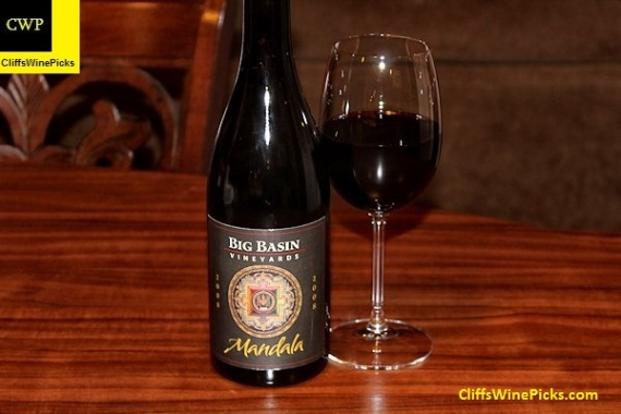 2008 Big Basin Vineyards Mandala Syrah