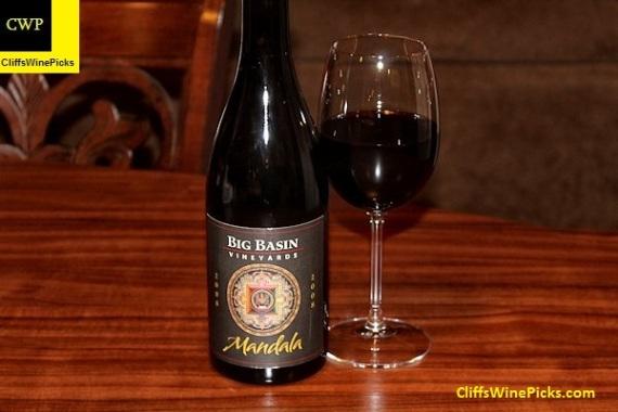 2008 Big Basin Vineyards Mandala Syrah