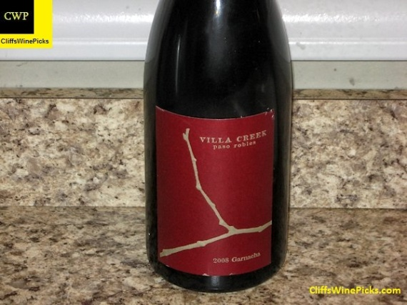 2008 Villa Creek Garnacha Denner Vineyard