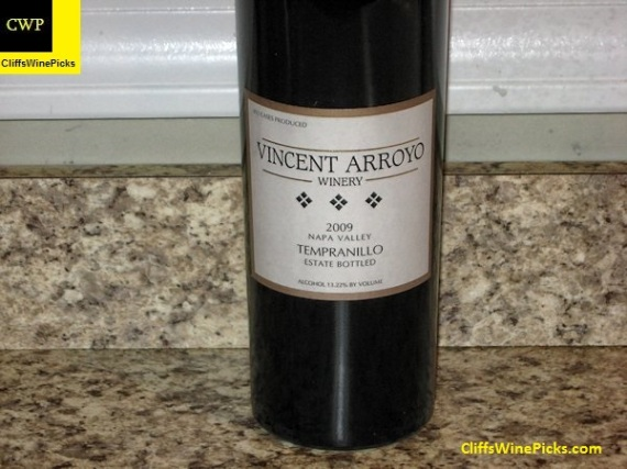 2009 Vincent Arroyo Tempranillo