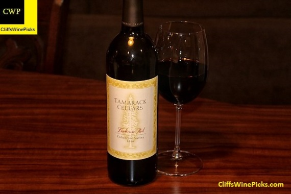 2010 Tamarack Cellars Firehouse Red