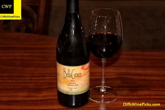2012 BellaGrace Vineyards Grenache