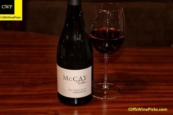 2013 McCay Cellars Grenache Abba Vineyard