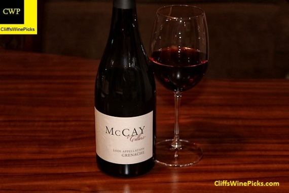 2013 McCay Cellars Grenache Abba Vineyard