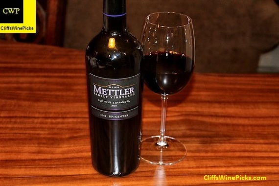 2013 Mettler Family Vineyards Zinfandel Old Vine Epicenter