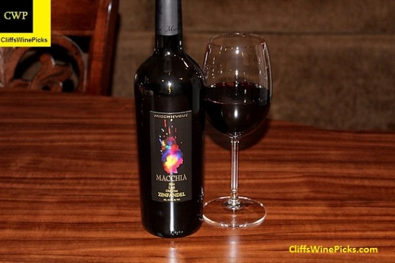 2014 Macchia Zinfandel Mischievous Old Vine