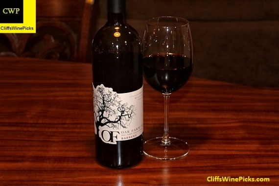 2014 Oak Farm Vineyards Barbera Lodi
