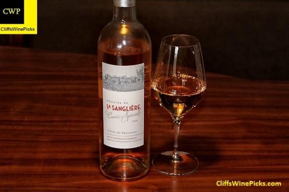2015 Domaine de la Sangliere Côtes de Provence Cuvée Spéciale