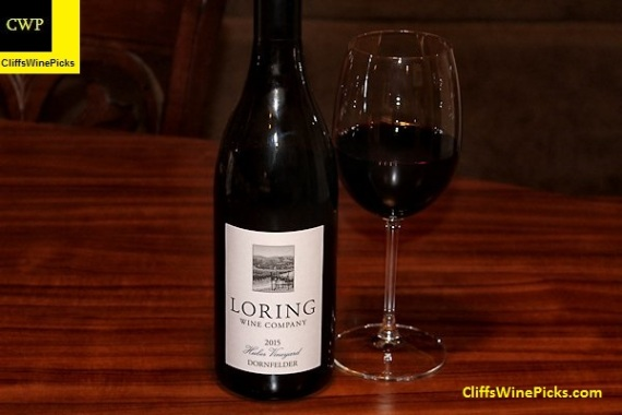 2015 Loring Wine Company Dornfelder Huber Vineyard