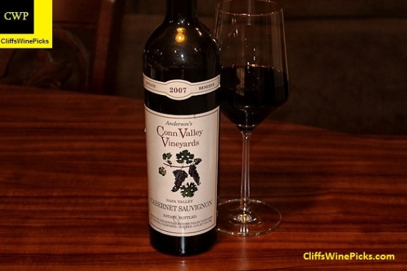 2007 Anderson's Conn Valley Vineyards Cabernet Sauvignon Estate Reserve