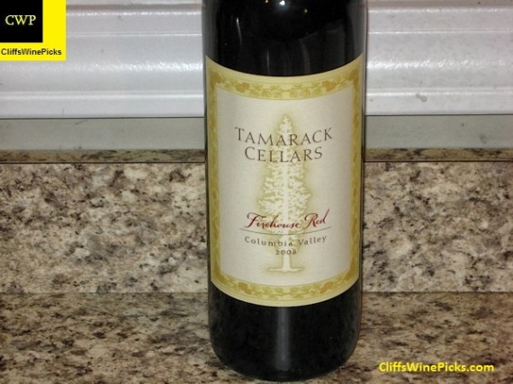 2008 Tamarack Cellars Firehouse Red