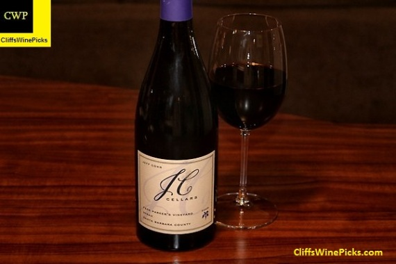 2009 JC Cellars Syrah Fess Parker Vineyard