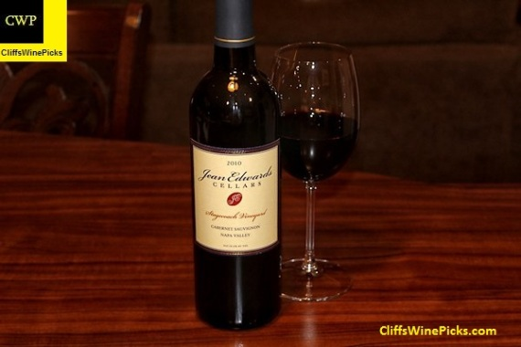 2010 Jean Edwards Cellars Cabernet Sauvignon Stagecoach Vineyard