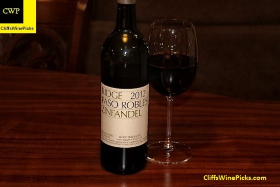 2012 Ridge Zinfandel Dusi Ranch
