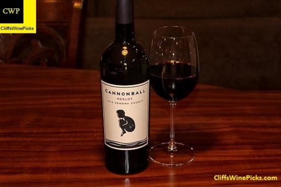 2014 Cannonball Wines Merlot