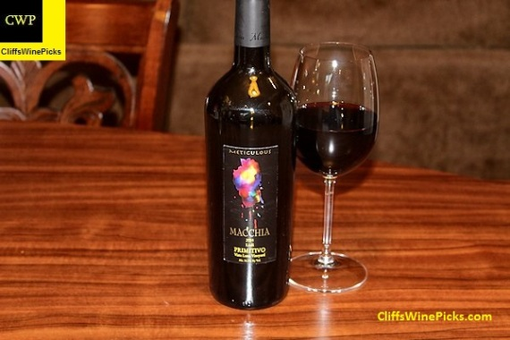 2014 Macchia Primitivo Meticulous Vista Luna Vineyard