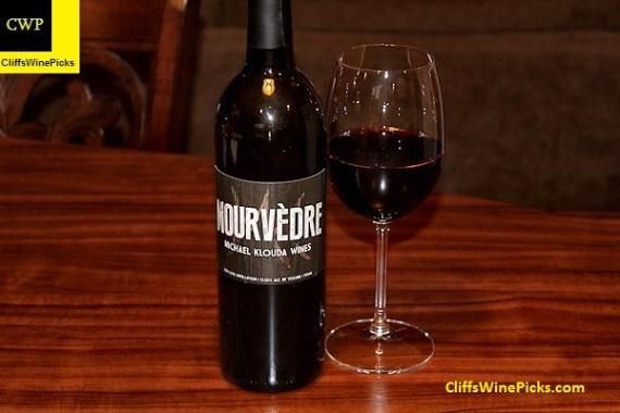 2014 Michael Klouda Wines Mourvedre Lodi