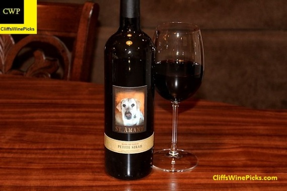 2014 St. Amant Winery Petite Sirah Mohr-Fry Ranch