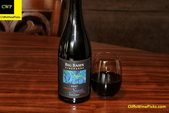 2007 Big Basin Vineyards Syrah Coastview Vineyard