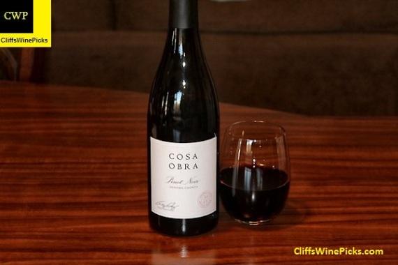 2013 Cosa Obra Pinot Noir