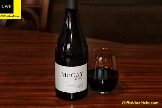 2014 McCay Cellars Syrah Abba Vineyard