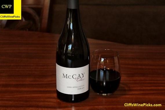 2014 McCay Cellars Syrah Abba Vineyard