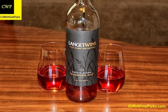 2015 LangeTwins Sangiovese Rosé