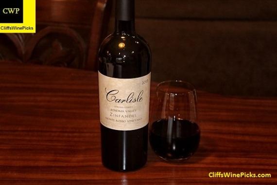 2013 Carlisle Zinfandel Monte Rosso Vineyard