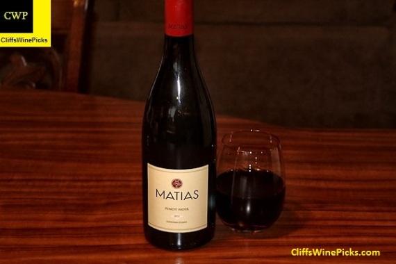 2013 Matias Pinot Noir Sonoma Coast