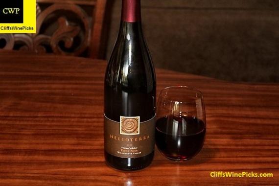 2010 Helioterra Pinot Noir Vintner's Select
