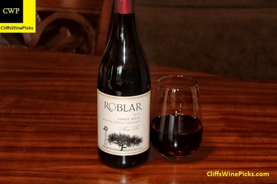 2012 Roblar Pinot Noir Mission Ranch Vineyard