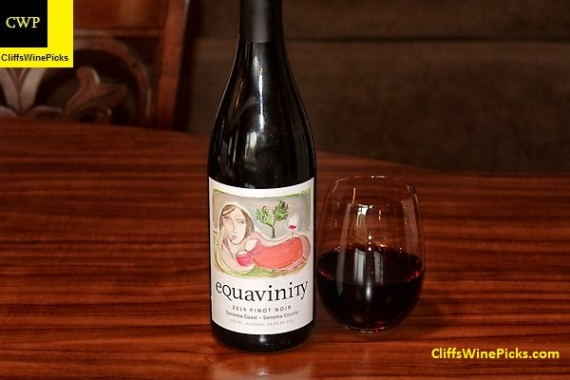 2014 Bruce Patch Equavinity Pinot Noir Sonoma Coast