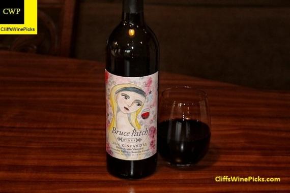 2014 Bruce Patch Zinfandel Harris Kratka Vineyard
