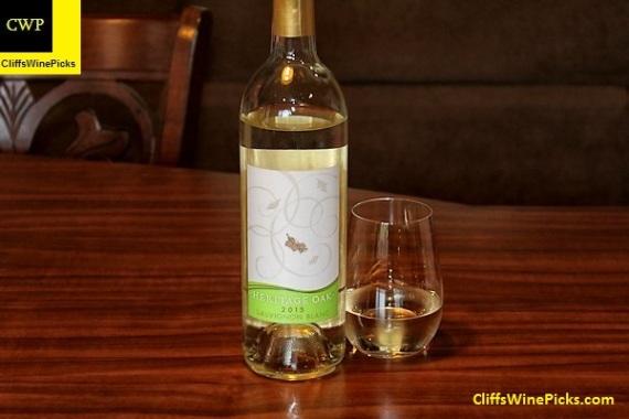 2015 Heritage Oak Sauvignon Blanc