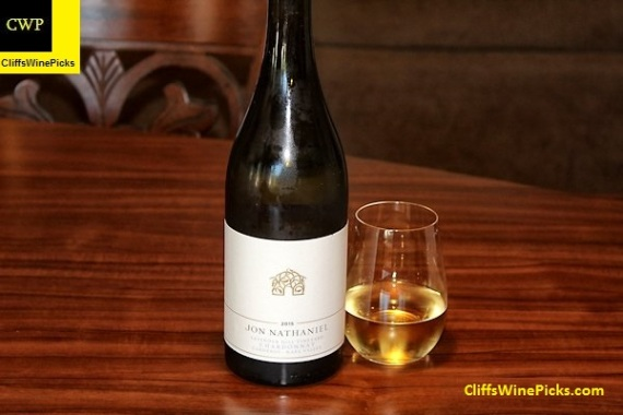 2015 Jon Nathaniel Wines Chardonnay Lavender Hill