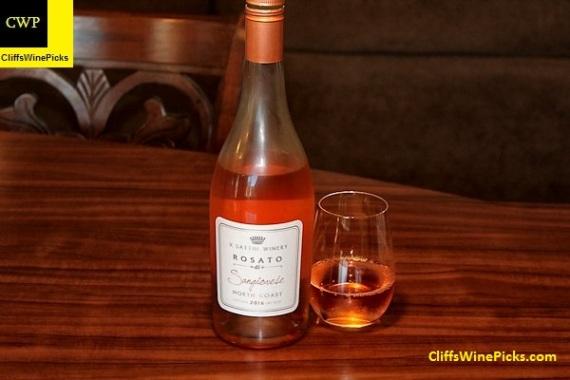 2016 V. Sattui Winery Rosato di Sangiovese