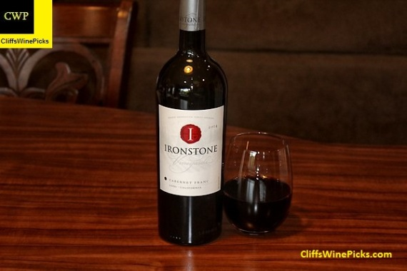 2014 Ironstone Vineyards Cabernet Franc