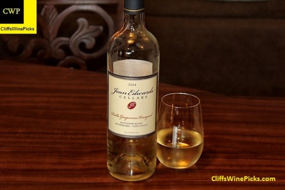 2014 Jean Edwards Cellars Sauvignon Blanc Dalla Gasperina Vineyard
