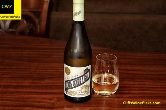 2016 Bodega Classica Rioja Hacienda López de Haro Blanco