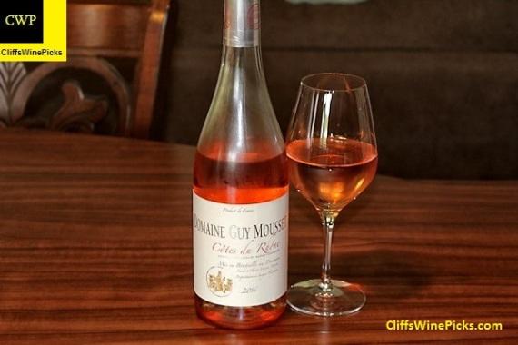 2016 Domaine Guy Mousset Rosé Côtes du Rhône