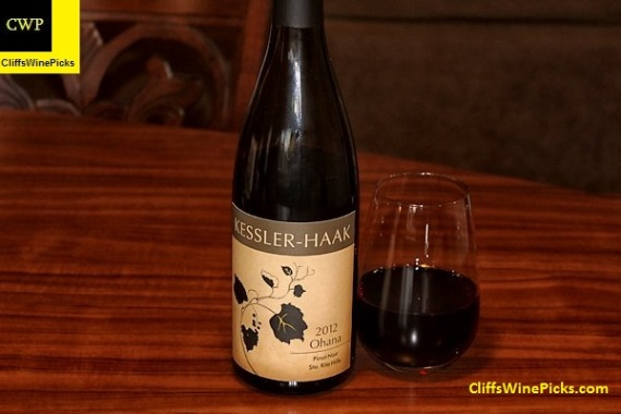 2012 Kessler-Haak Pinot Noir Ohana