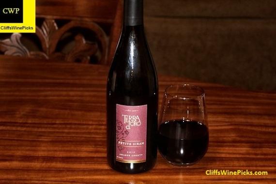 2012 Terra d'Oro Winery Petite Sirah