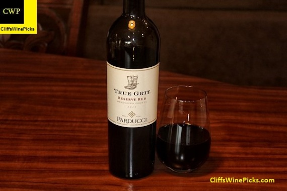 2013 Parducci True Grit Reserve Red