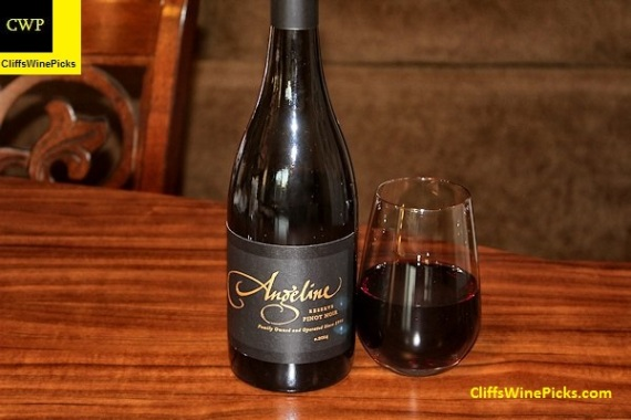 2014 Angeline Winery Pinot Noir Reserve