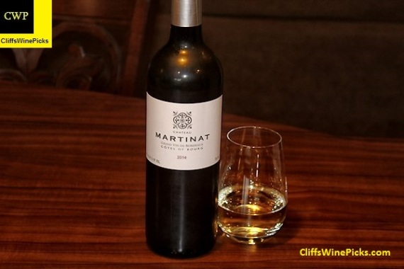 2014 Château Martinat Blanc Côtes de Bourg