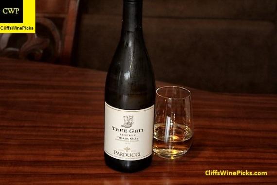 2015 Parducci Chardonnay True Grit Reserve