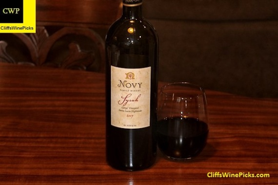 2007 Novy Family Wines Syrah Garys' Vineyard