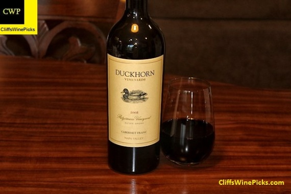 2008 Duckhorn Vineyards Cabernet Franc Estate Grown Patzimaro Vineyard Napa Valley