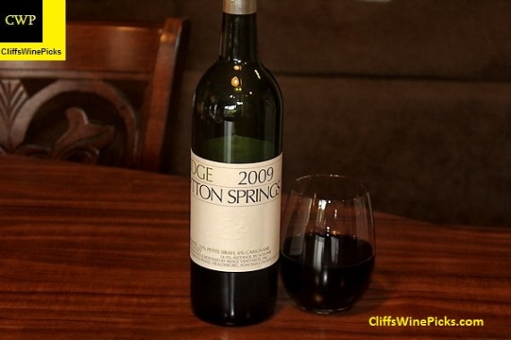 2009 Ridge Lytton Springs