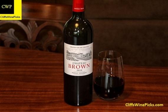 2010 Château Brown Pessac Leognan